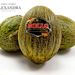 melon bollo etiqueta negra