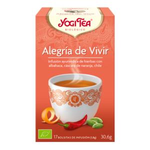 ALEGRIA DE VIVIR INFUSION BIO YOGI TEA