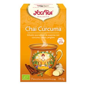 CHAI CURCUMA BIO YOGI TEA