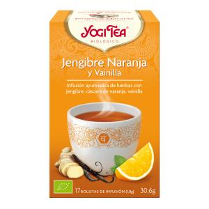 JENGIBRE NARANJA Y VAINILLA INFUSION BIO YOGI TEA
