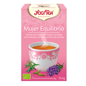 MUJER EQUILIBRIO INFUSION YOGI TEA
