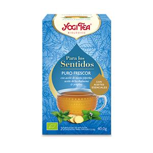 PARA LOS SENTIDOS PURO FRESCOR BIO YOGI TEA