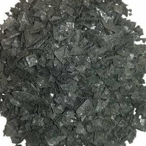 escamas de sal negra con carbon