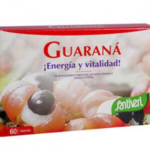 guarana capsulas 60 capsulas santiveri