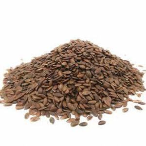 lino marron semillas