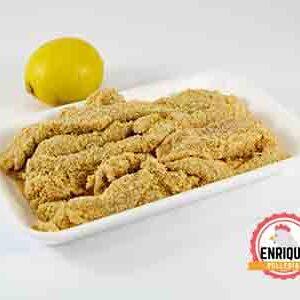 tiras pollo limon