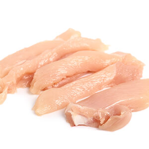Pechuga de pollo para fajitas