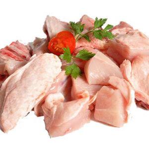 Pollo troceado