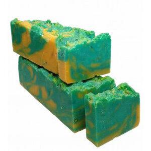 Jabón de aceites cítricos, al corte