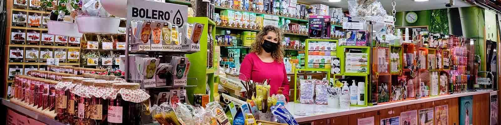 El herbolario del Mercado, herboristería dietética Begoña y Cris